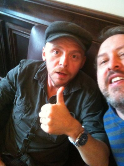 Me and Simon Pegg!