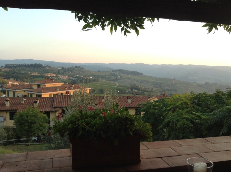 View from Oltre il Giardino
