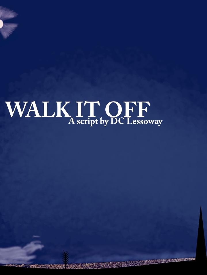 Walk it off Poster